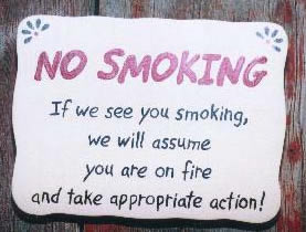 No Smoking Funny